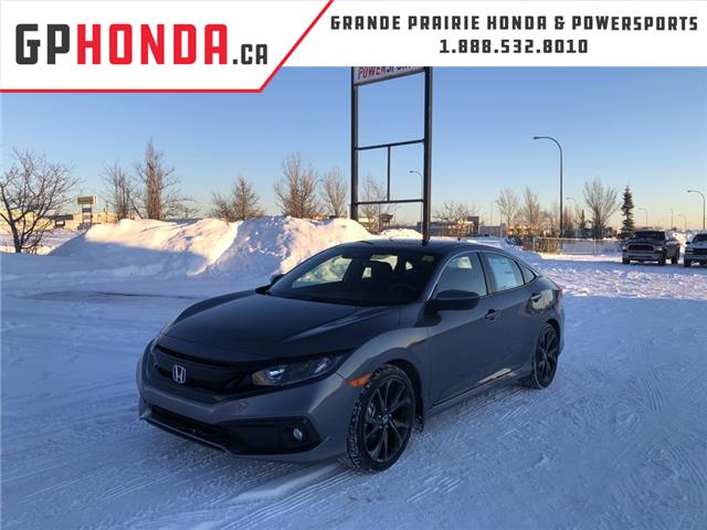 2021 Honda Civic Sport (Stk: H12-7330) in Grande Prairie - Image 1 of 27