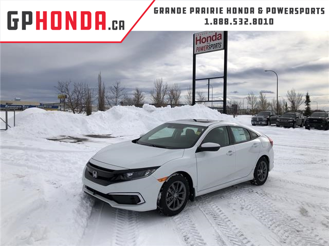 2021 Honda Civic EX (Stk: H12-8902) in Grande Prairie - Image 1 of 28