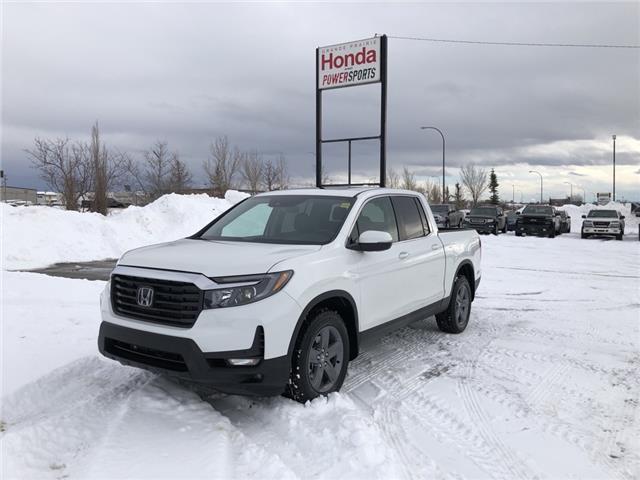 2021 Honda Ridgeline EX-L (Stk: H17-0111) in Grande Prairie - Image 1 of 30