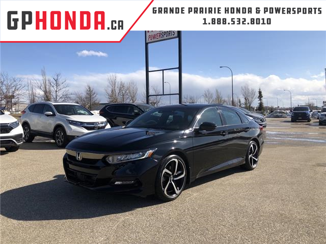 2018 Honda Accord Sport (Stk: 20-162A) in Grande Prairie - Image 1 of 17
