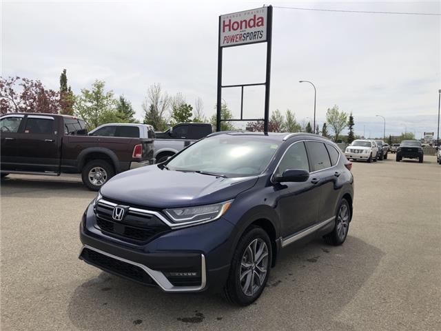2021 Honda CR-V Touring (Stk: H14-4537) in Grande Prairie - Image 1 of 21
