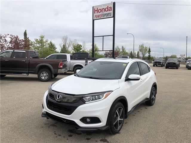 2021 Honda HR-V Sport (Stk: H13-1099) in Grande Prairie - Image 1 of 23