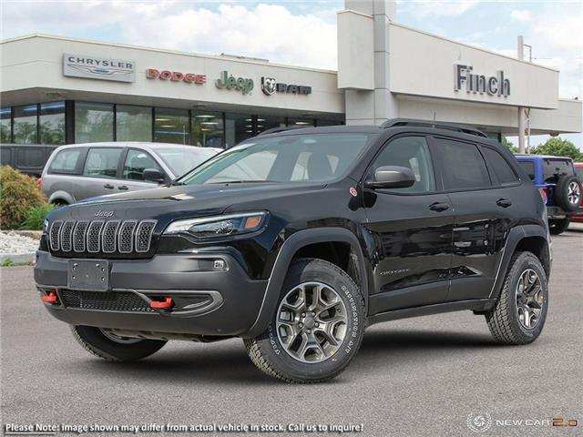 2020 Jeep Cherokee Trailhawk (Stk: 98749) in London - Image 1 of 21