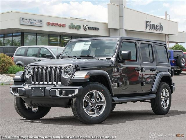2020 Jeep Wrangler Unlimited Sahara (Stk: 98947) in London - Image 1 of 24