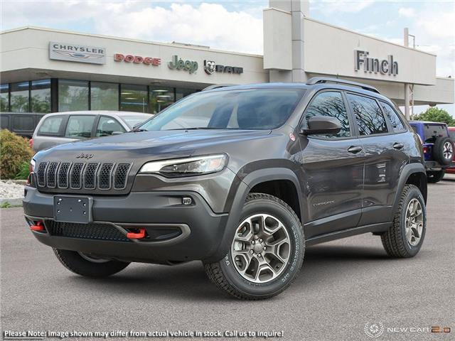 2020 Jeep Cherokee Trailhawk (Stk: 99307) in London - Image 1 of 20