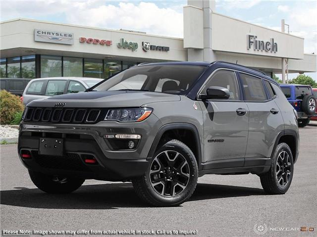 2021 Jeep Compass Trailhawk (Stk: 99126) in London - Image 1 of 24