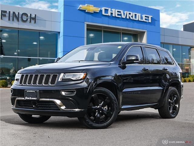2016 Jeep Grand Cherokee Overland (Stk: 151857) in London - Image 1 of 28