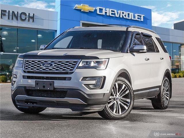 2017 Ford Explorer Platinum (Stk: 152191) in London - Image 1 of 28