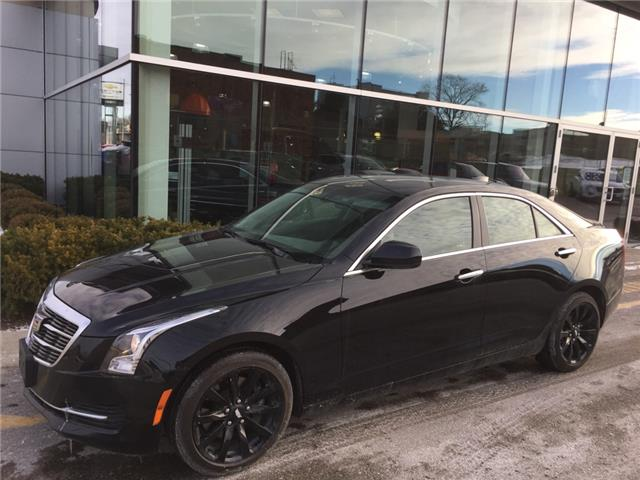 Used 2018 Cadillac ATS 2.0L Turbo Base 2.0L|TURBO|AWD|SUNROOF|WIRELESS CHARGING|REARVIEW CAMERA|HEATED SEATS - London - Finch Chevrolet