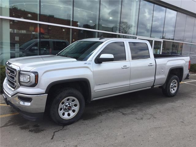 Used 2018 GMC Sierra 1500 SLE SLE|CREW CAB|4X4|TOUCH SCREEN|REARVIEW CAMERA|TRAILER PKG - London - Finch Chevrolet