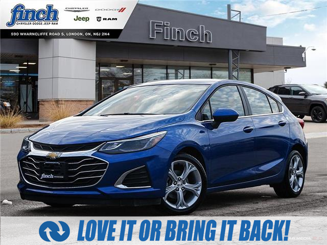 2019 Chevrolet Cruze Premier (Stk: 100353) in London - Image 1 of 27