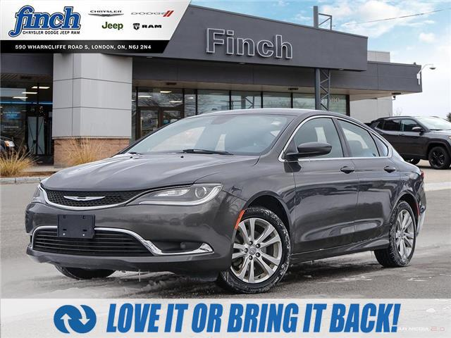 2015 Chrysler 200 Limited (Stk: 100546) in London - Image 1 of 27