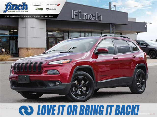 2017 Jeep Cherokee Limited (Stk: 101515) in London - Image 1 of 26