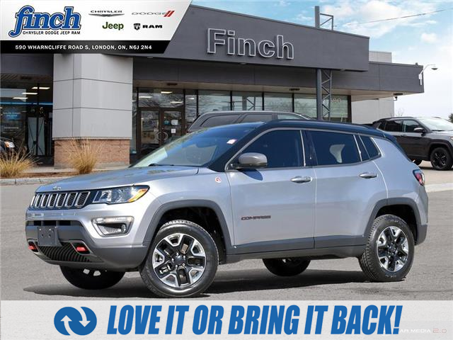 2018 Jeep Compass Trailhawk (Stk: 89550) in London - Image 1 of 27