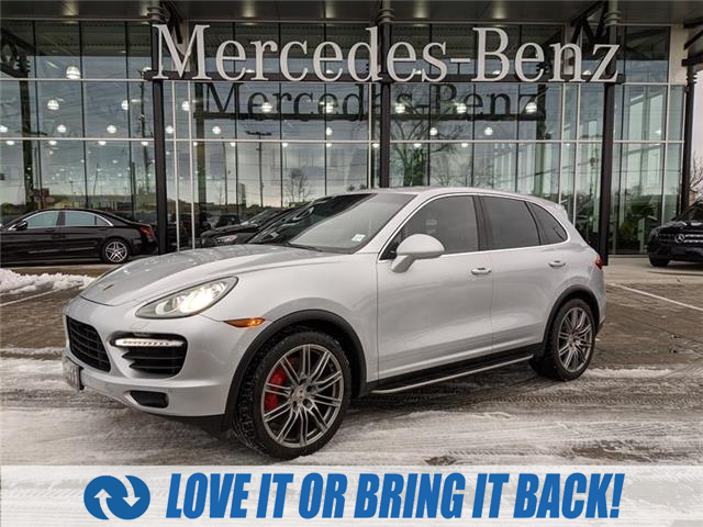 Used 2011 Porsche Cayenne Turbo TURBO|AWD|PARK ASSIST|LANE CHANGE ASSIST|ADAPTIVE CRUISE - London - Mercedes Benz London