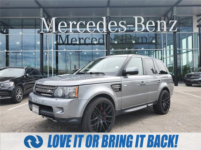 Used 2013 Land Rover Range Rover Sport Supercharged SUPERCHARGED 4X4 HSE V8 NAV REARVIEW CAMERA HEATED SEATS/STEERING WHEEL - London - Mercedes Benz London