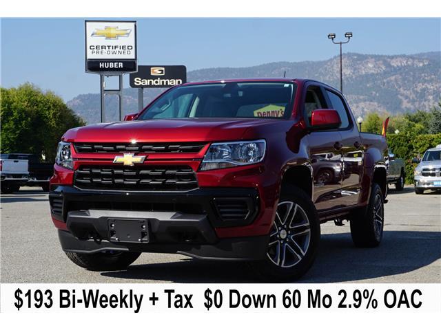 2021 Chevrolet Colorado WT (Stk: N00521) in Penticton - Image 1 of 8