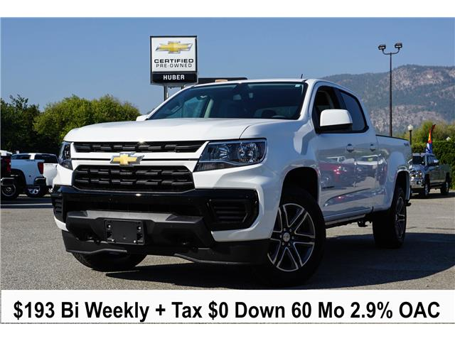 2021 Chevrolet Colorado WT (Stk: N01121) in Penticton - Image 1 of 6
