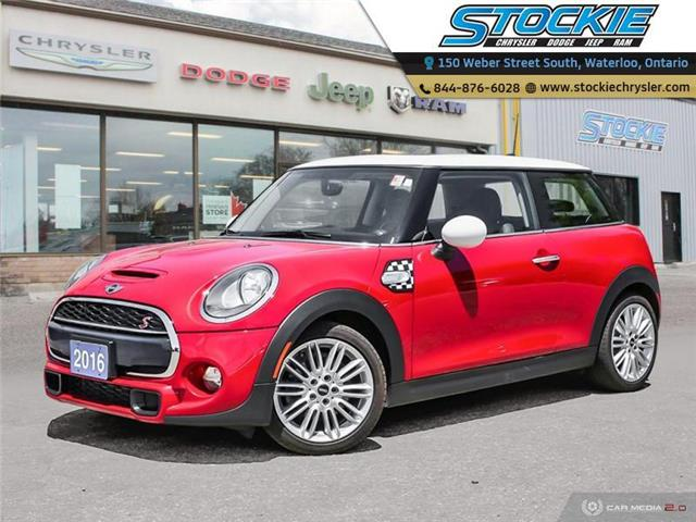 2016 MINI 3 Door Cooper S (Stk: 34192) in Waterloo - Image 1 of 27