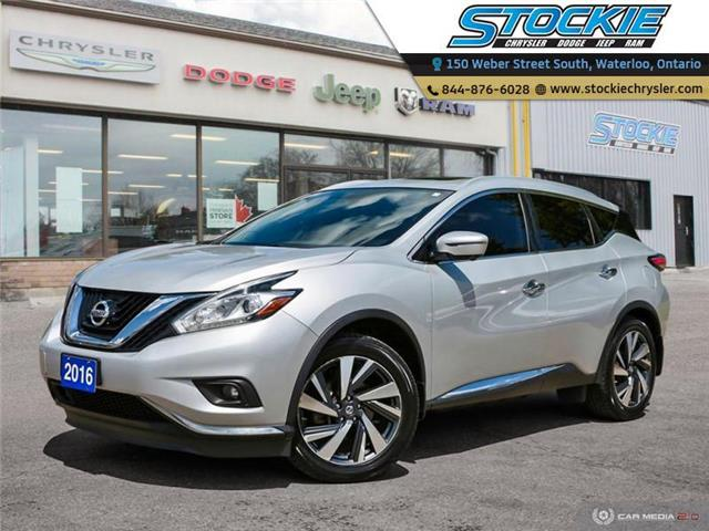 2016 Nissan Murano Platinum (Stk: 34600) in Waterloo - Image 1 of 27
