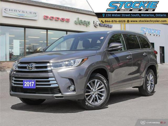 2017 Toyota Highlander XLE (Stk: 34566) in Waterloo - Image 1 of 27