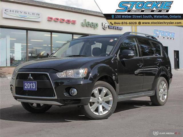 2013 Mitsubishi Outlander XLS (Stk: 34262) in Waterloo - Image 1 of 27