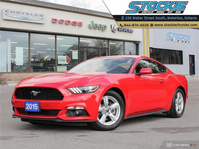 2015 Ford Mustang V6 (Stk: 35020) in Waterloo - Image 1 of 25