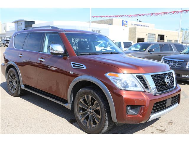 2017 Nissan Armada Platinum (Stk: 181814) in Medicine Hat - Image 1 of 29