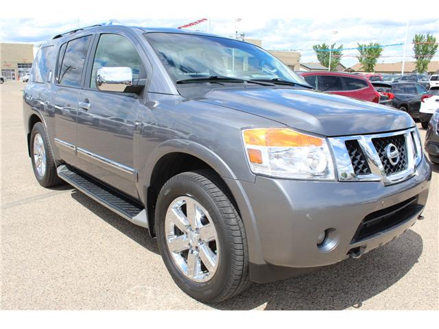 2014 Nissan Armada Platinum (Stk: 184163) in Medicine Hat - Image 1 of 32