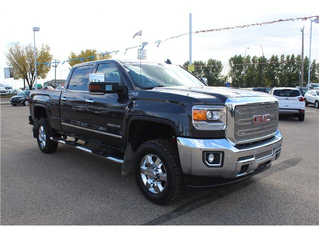 2015 GMC Sierra 3500HD SLT (Stk: 123803) in Medicine Hat - Image 1 of 27