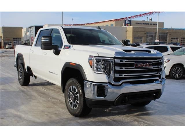 2021 GMC Sierra 2500HD SLE (Stk: 187549) in Medicine Hat - Image 1 of 21