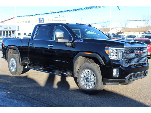 2021 GMC Sierra 2500HD Denali (Stk: 187978) in Medicine Hat - Image 1 of 21