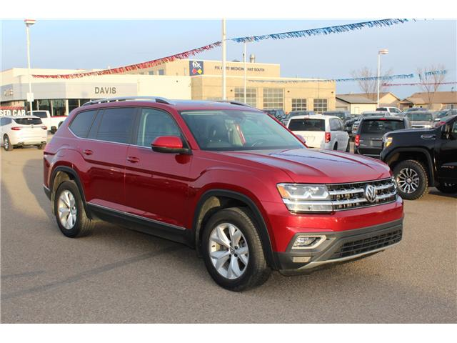 2018 Volkswagen Atlas 3.6 FSI Highline (Stk: 188829) in Medicine Hat - Image 1 of 24