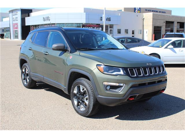 2018 Jeep Compass Trailhawk (Stk: 190001) in Medicine Hat - Image 1 of 27