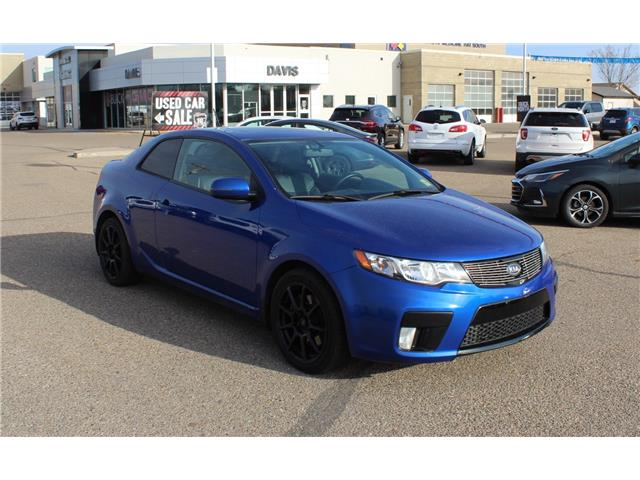 2012 Kia Forte Koup 2.4L SX Luxury (Stk: 190551) in Medicine Hat - Image 1 of 26