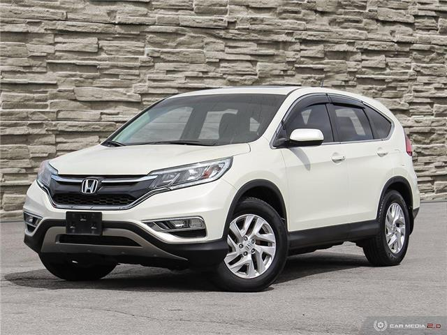 2015 Honda CR-V EX-L (Stk: J4072B) in Brantford - Image 1 of 27