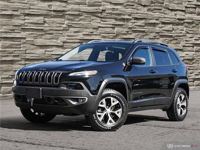 2018 Jeep Cherokee Trailhawk (Stk: 91311) in Brantford - Image 1 of 27