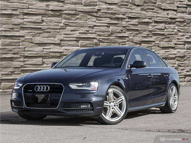 2015 Audi A4  (Stk: T8689A) in Brantford - Image 1 of 27
