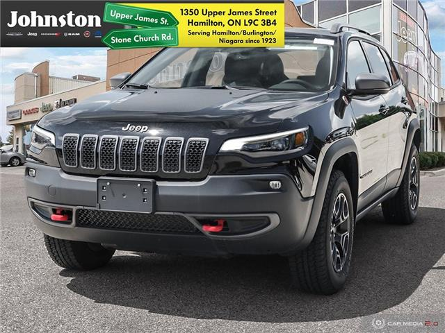 2020 Jeep Cherokee Trailhawk (Stk: L1107) in Hamilton - Image 1 of 10