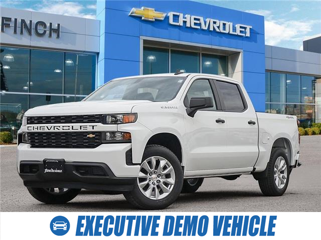 2021 Chevrolet Silverado 1500 Silverado Custom (Stk: 152229) in London - Image 1 of 28