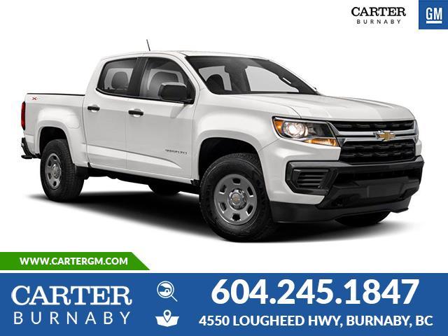 New 2021 Chevrolet Colorado WT  - Burnaby - Carter GM Burnaby