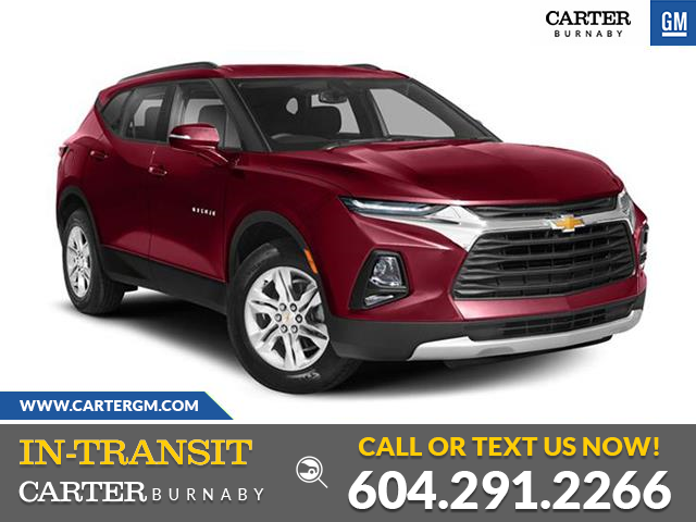 New 2021 Chevrolet Blazer RS  - Burnaby - Carter GM Burnaby