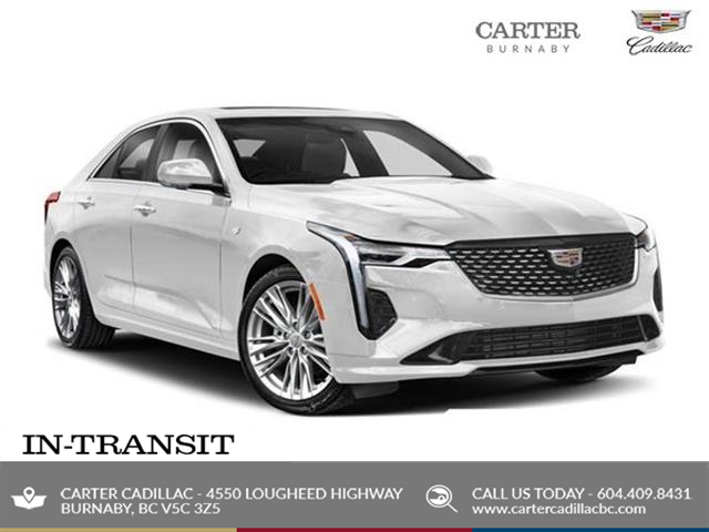 New 2021 Cadillac CT4 Sport  - Burnaby - Carter GM Burnaby