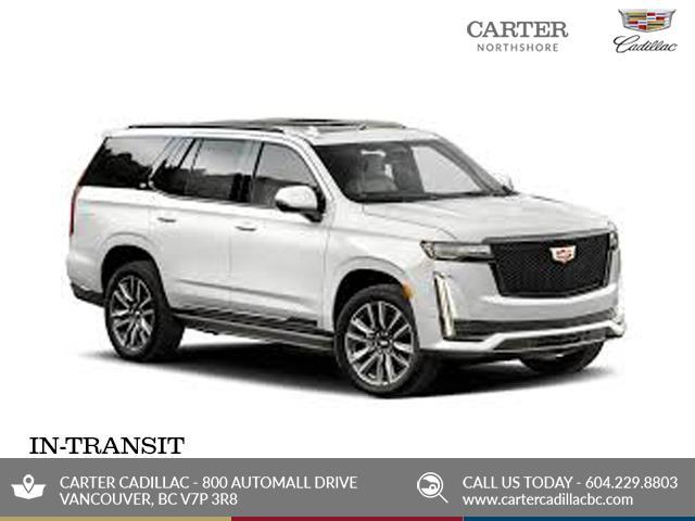 New 2021 Cadillac Escalade ESV Premium Luxury  - North Vancouver - Carter GM North Shore