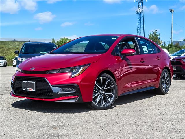 2020 Toyota Corolla SE (Stk: 02130) in Waterloo - Image 1 of 20