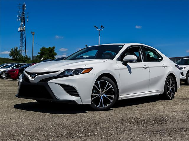 2020 Toyota Camry SE (Stk: 03066) in Waterloo - Image 1 of 19