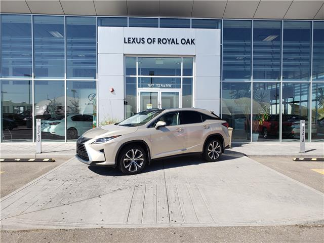 2016 Lexus RX 350 Base (Stk: L20465A) in Calgary - Image 1 of 9