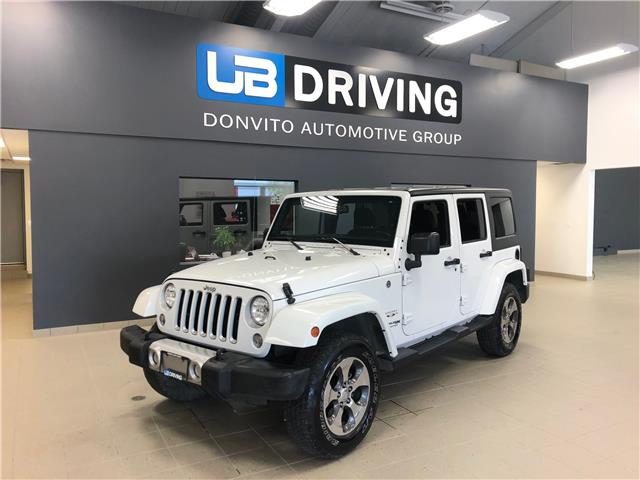 2018 Jeep Wrangler JK Unlimited Sahara (Stk: 18JW40625) in Winnipeg - Image 1 of 14