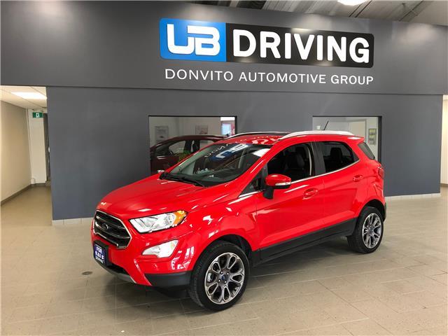 2019 Ford EcoSport Titanium (Stk: 19FE59483) in Winnipeg - Image 1 of 14