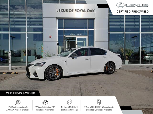 2016 Lexus GS F Base (Stk: L20278A) in Calgary - Image 1 of 22